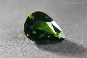 Colour-change Chrome Tourmaline, faceted, Mozambique. 1.07 carats. ** SOLD **